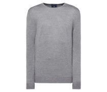 Pullover aus Merinowoll-Seide-Mix