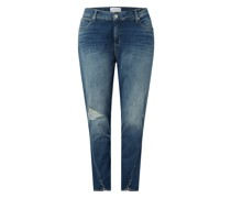 PLUS SIZE Skinny Fit High Rise Jeans mit Stretch-Anteil
