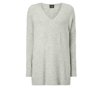 Oversized Pullover mit Woll-Anteil