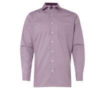 Modern Fit Business-Hemd mit feinem Hahnentritt