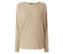 Pullover mit angeschnittenen Ärmeln