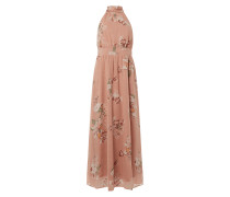 Maxikleid aus Chiffon mit floralem Muster Modell 'Lovely'