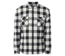 Tailored Fit Freizeithemd mit Reißverschluss