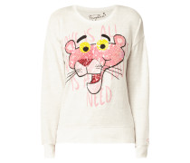 Pullover mit Pink Panther©-Stickerei