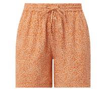 Shorts aus Viskose Modell 'Varilli'