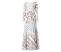 Pure Silk Printed Maxi Dress Gigi Hadid
