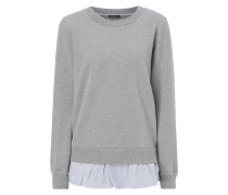 Sweatshirt im Double-Layer-Look