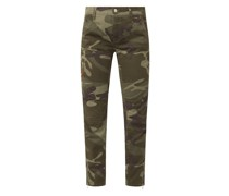 Cargohose mit Camouflage-Muster Modell 'Rich'