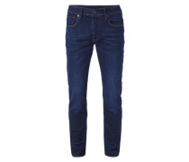 Slim Fit Jeans aus Bio-Baumwoll-Mix