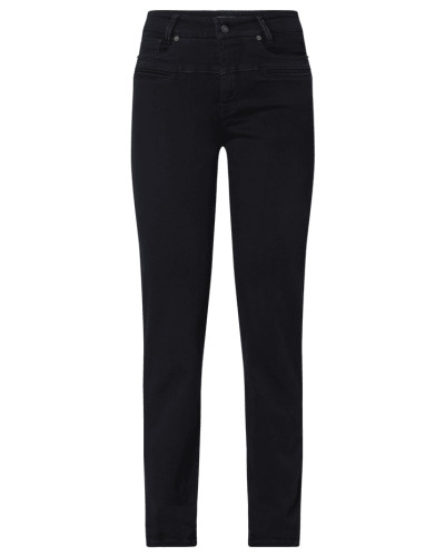 Slim Fit Jeans mit Zierpaspeln