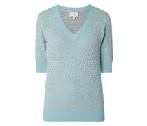 Pullover mit kurzen Ärmeln Modell 'Nybrynn'