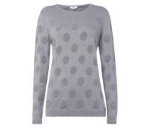 Pullover mit strukturiertem Punktemuster