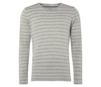 Pullover aus Bio-Baumwolle mit Streifen