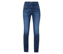 Stone Washed Slim Fit Jeans mit Stretch-Anteil