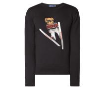 Sweatshirt mit eingesticktem Polo Bear