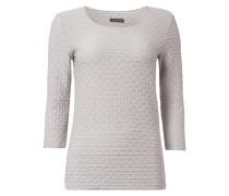 Shirt mit strukturiertem Muster