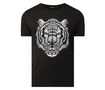 Slim Fit T-Shirt mit Print