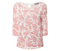 Longsleeve mit Paisley-Muster Modell 'Florica'