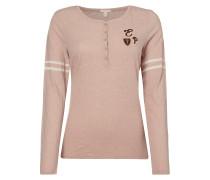 Serafino-Shirt im College-Look