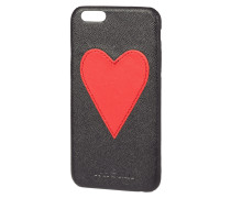 iPhone Case mit Herz-Applikation