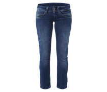 Regular Fit Jeans im Stone Washed-Look