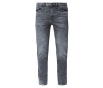 Slim Fit Jeans aus Baumwolle Modell 'Hugo'