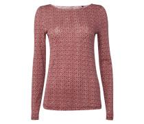 Shirt aus Slub Jersey mit Allover-Muster