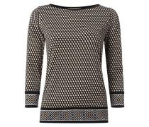 Shirt mit grafischem Muster