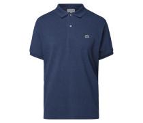 Classic Fit Poloshirt mit Logo-Applikation