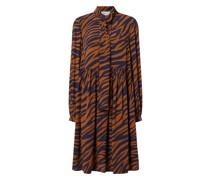 Kleid mit Animal-Print Modell 'ENISEGZ'