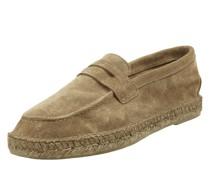 Penny-Loafer aus Veloursleder