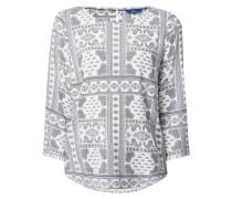 Blusenshirt mit Paisley-Dessin