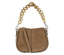 Saddle Bag aus Veloursleder Modell 'Helena'