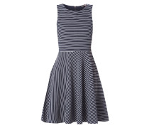 Kleid mit Rippenstruktur