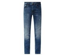 Slim Fit Jeans mit Stretch-Anteil Modell 'Seaham'