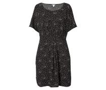 Kleid mit Buchstabenmuster