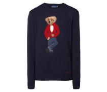 Pullover mit eingestricktem Polo-Bear