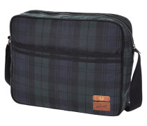 Messenger Bag mit Tartanmuster