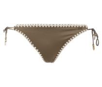 Bikinislip mit seitlichen Schnürverschlüssen