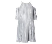 Kleid mit Cut Outs - plissiert