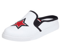 Slip-On Sneaker mit Stickerei