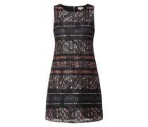 Kleid aus floraler Spitze mit floralem Muster
