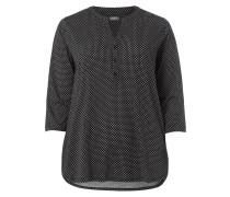 PLUS SIZE –  Blusenshirt mit Allover-Muster