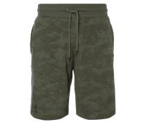 Shorts mit stilisiertem Camouflage-Muster