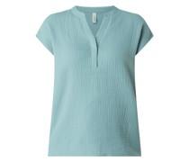Blusenshirt aus Bio-Baumwolle
