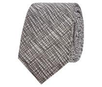 Krawatte aus reiner Seide mit abstraktem Muster