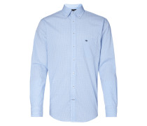 Casual Fit Freizeithemd mit Button-Down-Kragen