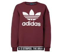 Oversized Sweatshirt mit großem Logo-Print