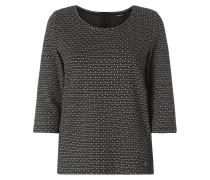 Shirt mit eingearbeitetem Muster