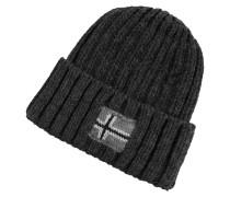 Mütze im Rippenstrick